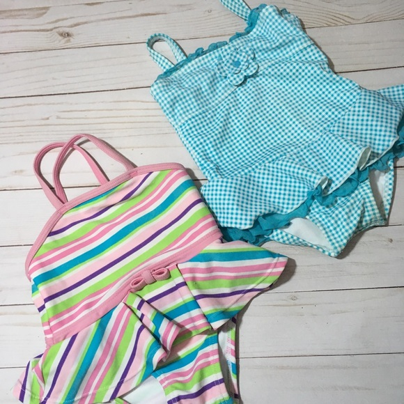 Other - 2 one piece swimsuits 12-18 months